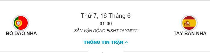 Soi keo Bo Dao Nha vs Tay Ban Nha 1h00 ngay 16/06 hinh anh 1