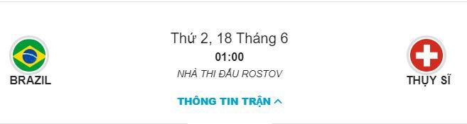 Soi keo Brazil vs Thuy Sy 01h00 ngay 18/06 bang E hinh anh 1