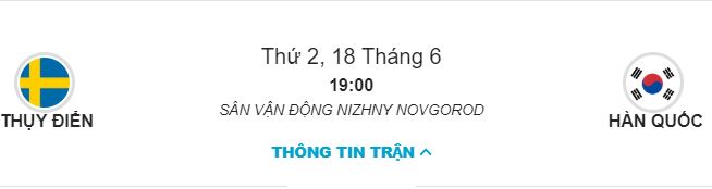Soi keo Thuy Dien vs Han Quoc ngay 18/06 luc 19h hinh anh 1
