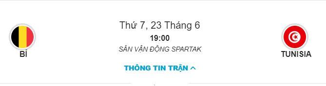 Soi keo Bi vs Tunisia bang G ngay 23/06 luc 19h00 hinh anh 1