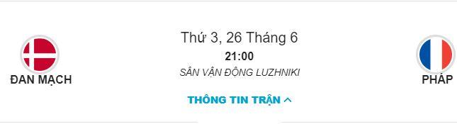 Soi keo Dan Mach vs Phap luc 21h ngay 26/06 bang C hinh anh