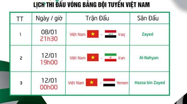 Xem truc tiep doi tuyen Viet Nam da Asian Cup 2019 o dau hinh anh 2