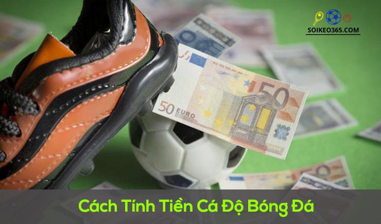 Cách tính tiền cá độ bóng đá