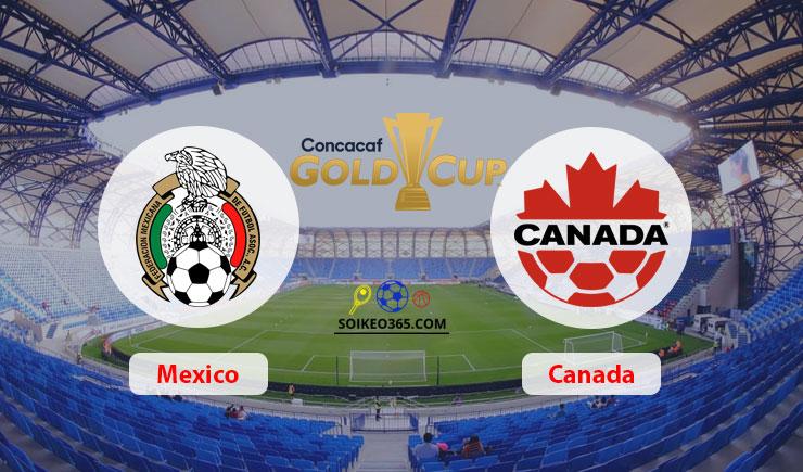 Soi kèo Mexico vs Canada
