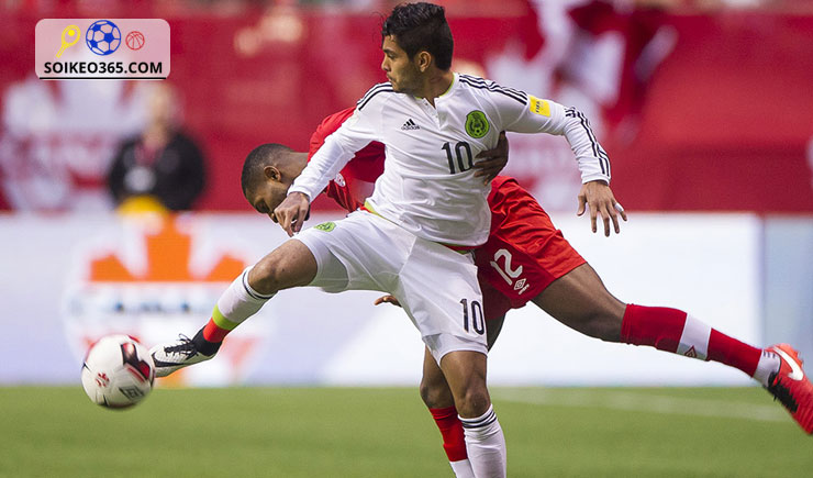 Tỷ lệ kèo Mexico vs Canada