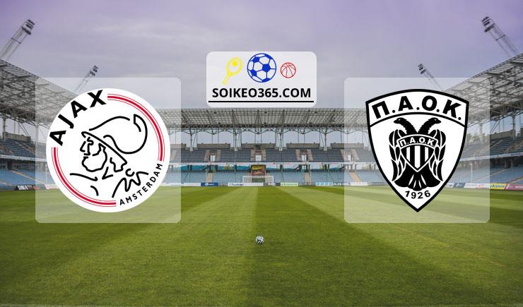 Soi kèo Ajax Amsterdam vs PAOK