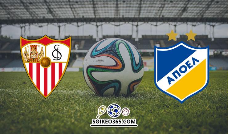 Soi kèo Sevilla vs APOEL Nicosia