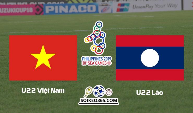 Kèo U22 Việt Nam vs U22 Lào