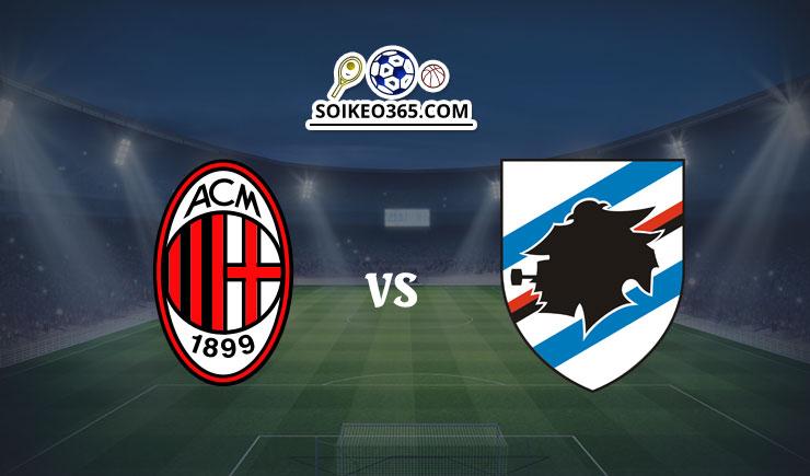 Soi kèo AC Milan vs Sampdoria
