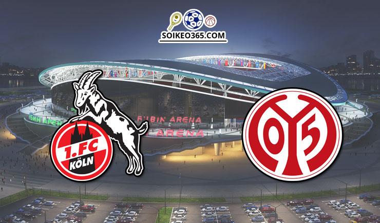 Soi kèo FC Koln vs Mainz 05 ngày 17/05/2020