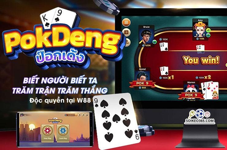 Cách chơi đánh bài Pok Deng