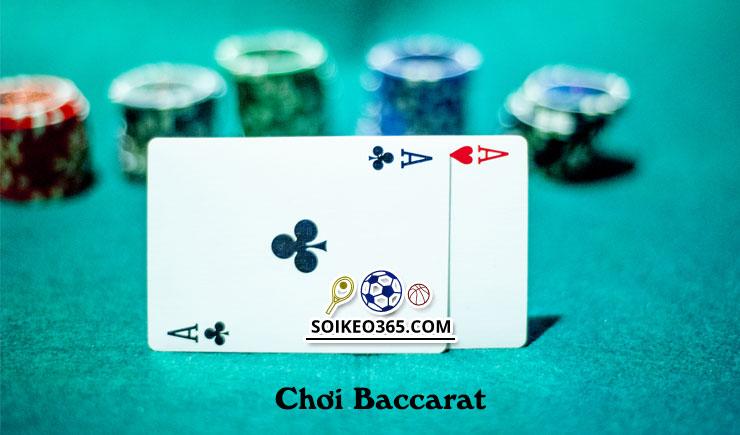 Phương pháp chơi Baccarat