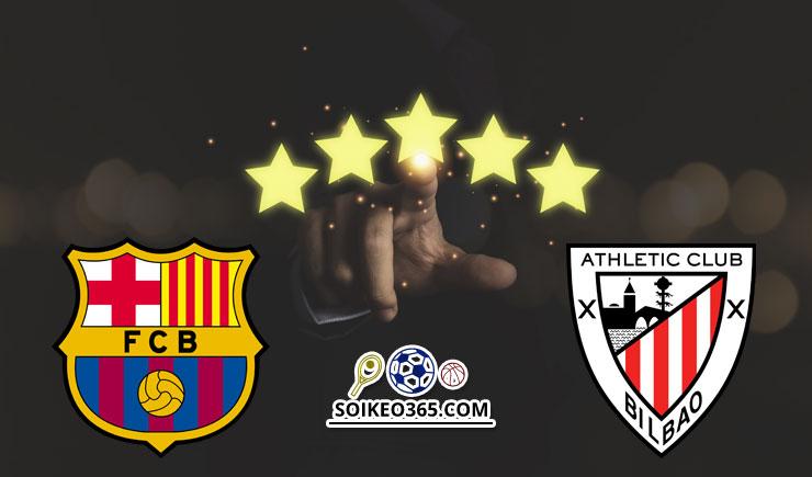 Soi kèo Barcelona vs Athletic Bilbao