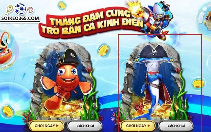 Các game bắn cá Online số 1 ở Việt Nam