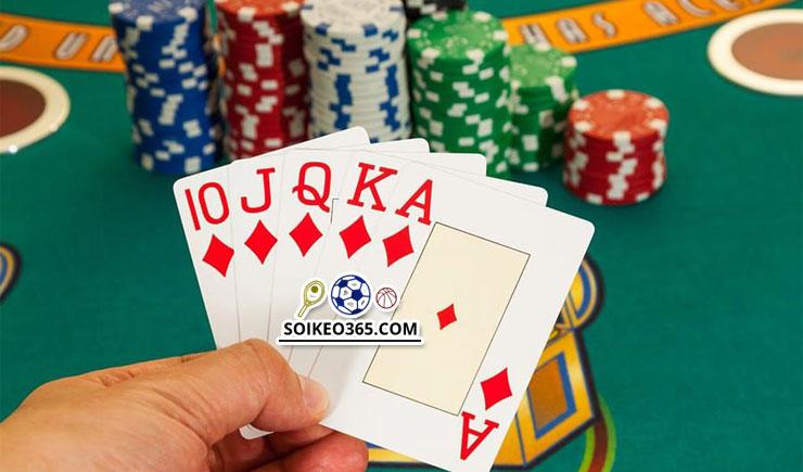 tay bài Poker mạnh