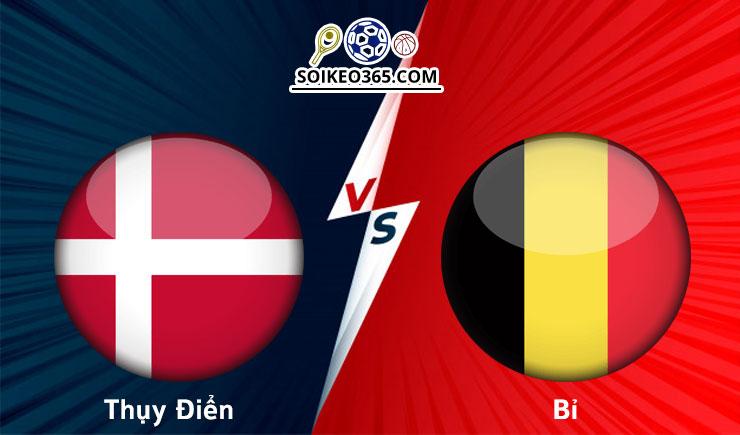 Soi kèo Đan Mạch vs Bỉ