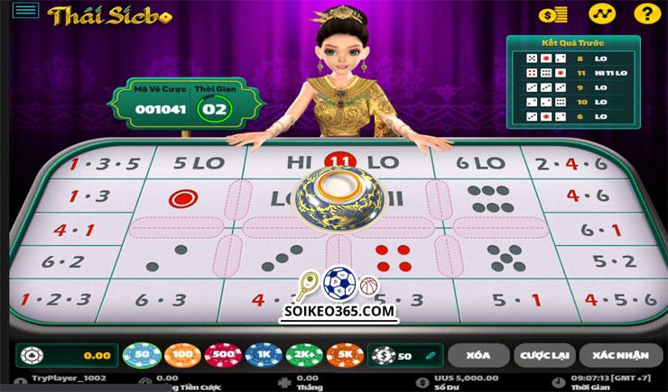 Cách chơi Thái Sicbo
