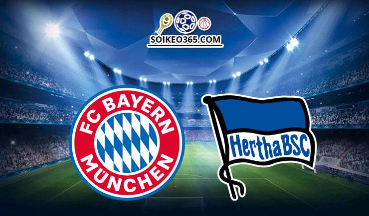 Soi kèo Bayern Munich vs Hertha Berlin