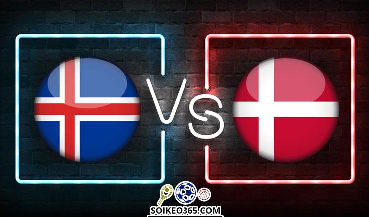 Soi kèo Iceland vs Đan Mạch