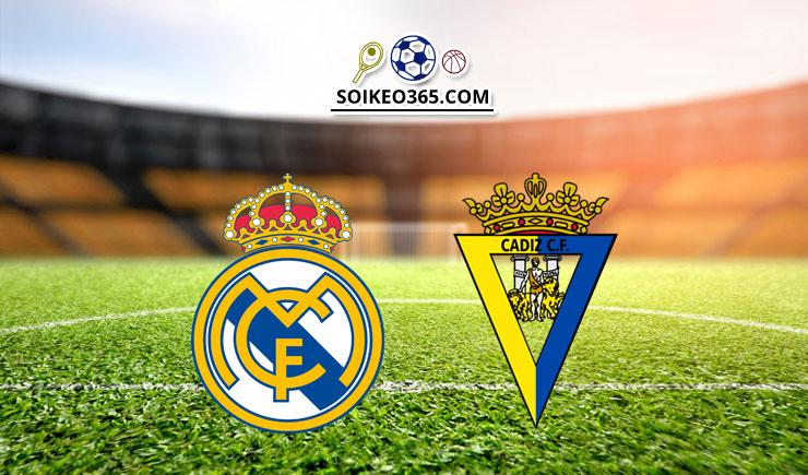 Soi kèo Real Madrid vs Cadiz SAD
