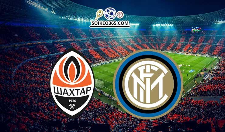 Soi kèo Shakhtar Donetsk vs Inter Milan