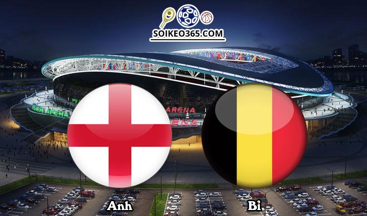 Soi kèo Anh vs Bỉ