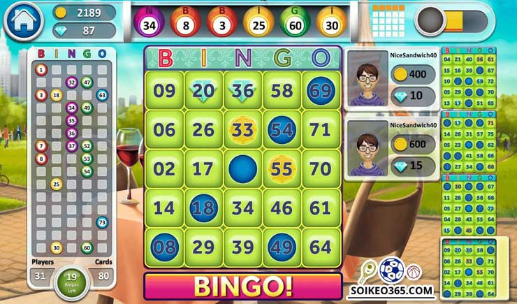 Các trò chơi Bingo