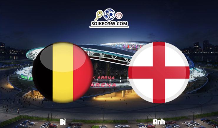 Soi kèo Bỉ vs Anh