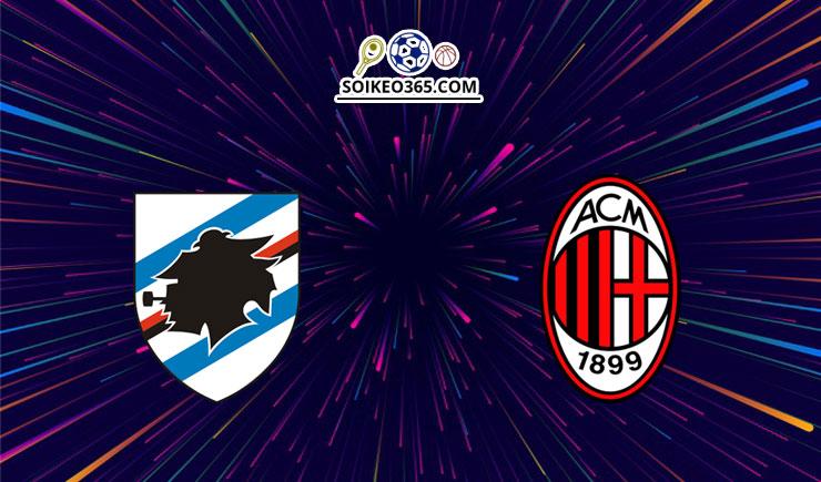 Soi kèo Sampdoria vs AC Milan