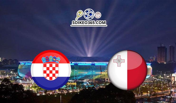 Soi kèo Croatia vs Malta