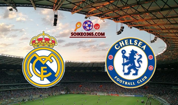 Soi kèo tỷ số trận Real Madrid vs Chelsea, 02h00 – 28/04