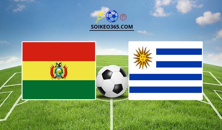 Soi kèo tỷ số trận Bolivia vs Uruguay, 04h00 – 25/06/2021